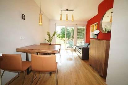 Möblierte 2-Zimmer Wohnung mit Garten