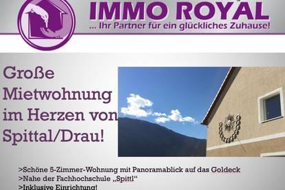 5-Zimmer-Mietwohnung in Spittal/Drau