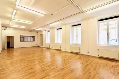 Vielseitige Bürofläche mit Lagerraum in Otto Wagner-Haus!