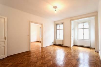 Großzügig geschnittene 2-Zimmer-Wohnung mit separater Küche und Schrankraum