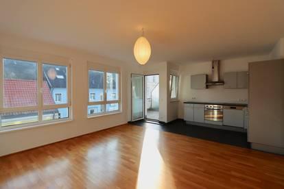 Balkonwohnung! 3-Zimmer-Neubau im 1. Stock - Garagenanmietung möglich