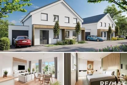 Modern wohnen in Reichenau: Neubau-Doppelhaushälfte in ruhiger Sackgassenlage (Haus 1)