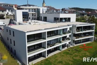 4 Zimmer-Wohnung mit ca. 75 m² Eigengarten - Erstbezug!