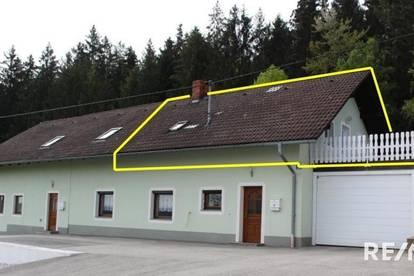 Gemütliche Wohnung (ca. 72,11 m²) am Land!