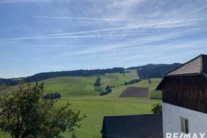 ***Bauernhof mit Stall und großem Stadl mit AUSBLICK!***