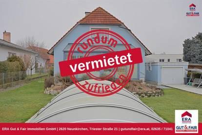 VERMIETET! Einfamilienhaus zur Miete in Katzelsdorf