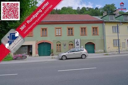 Historische Eigentumswohnung in Schottwien / Bez. Neunkirchen