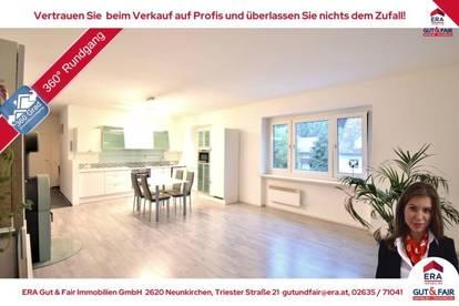 Für Paare oder Kleinfamilie: 3-Zimmer-Wohnung mit Loggia - Garage möglich!