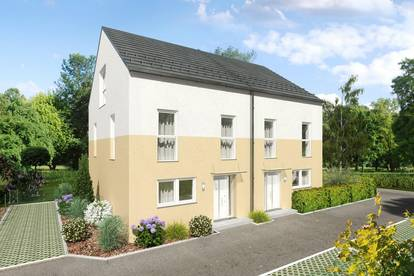 Modernes Doppelhaus auf Eigengrund in Deutsch Brodersdorf, mit herrlichem Ausblick