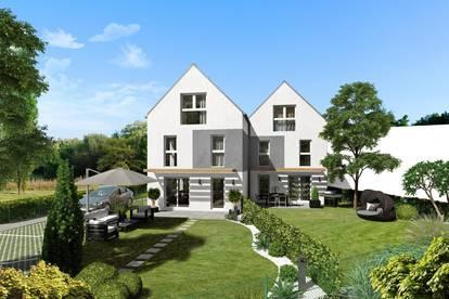 Wunderschönes, modernes Doppelhaus im Zentrum von Guntramsdorf, südseitiger Garten, gute Infrastruktur