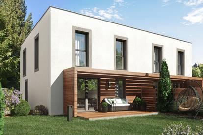 Wien Leopoldau, Baurechtsgrund, wunderschöne und moderne Doppelhäuser, in Nähe zur Natur, gute Infrastruktur