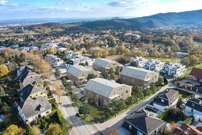 Gießhübl, Dachgeschoßwohnung mit herrlichem Blick, exklusives und ökologisch nachhaltiges Wohnhausprojekt