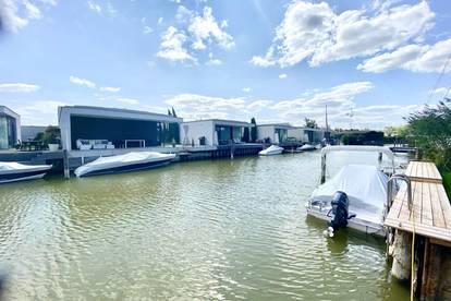 Seegrundstück in Neusiedl am See am Segelhafen West * Baubewilligung für Doppelhaus *