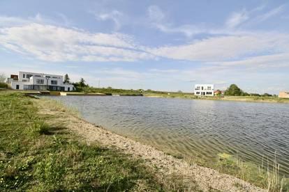 Wohnen am Neusiedlersee - Insel - Seegrundstück in Oggau
