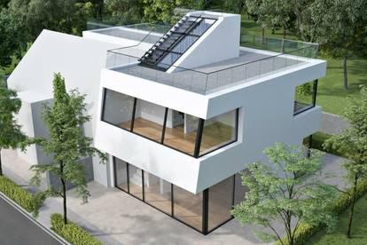 Luxuriöse Doppelhaushälfte mit Eigengarten und sonnigen Freiflächen!