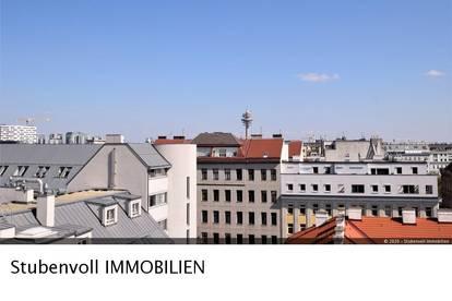 Exklusive DG Maisonette ca. 97m² Wfl + 2 Terrassen und Balkon mit gesamt ca. 28m² und herrlichem Fernblick!