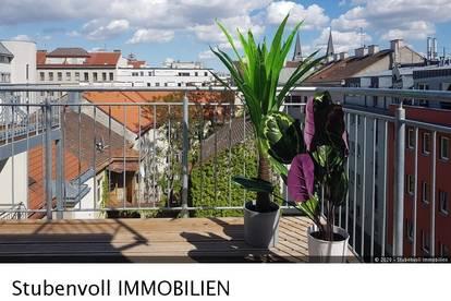 Exklusive DG Maisonette mit Wintergarten! 95m² Wfl + 2 Terrassen mit gesamt ca. 15,5m² und 1 Balkon mit ca. 11m² und herrlichem Fernblick!