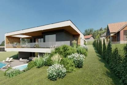 Sonniger Baugrund mit Architektenplanung in Südkärnten / Klopeiner See