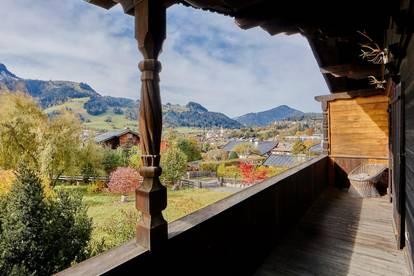 Traumhaftes Anwesen mit Blick über Kitzbühel