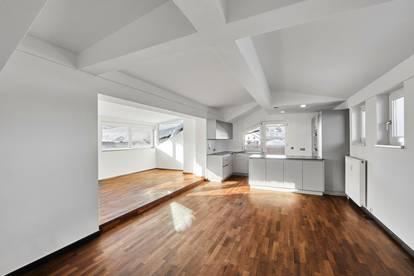 Dachgeschosswohnung mit Kaiserblick - zentrumsnah