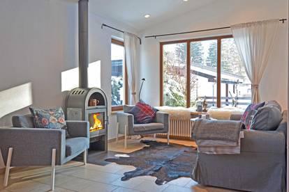 Kleines, gemütliches Ferienhaus mit Hornblick