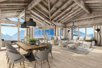 W-02E3XA Luxuriöse Ferienappartements nahe Skilift - Haus 2, Top 3