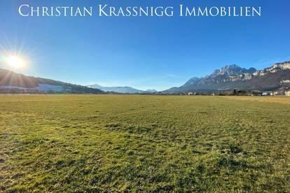 Baugrund in St. Johann, mit freiem Blick auf das Kitzbüheler Horn und den Wilden Kaiser