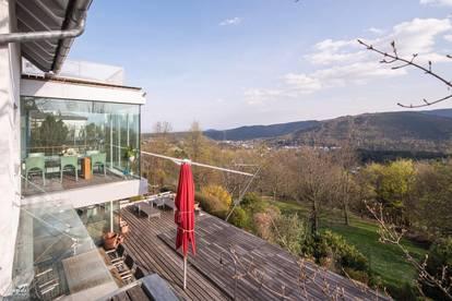 Villa mit Weitblick in Toplage Gießhübl bei Wien