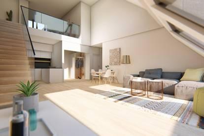 MIETKAUF: Galeriewohnung mit 3 Zimmern und Terrasse
