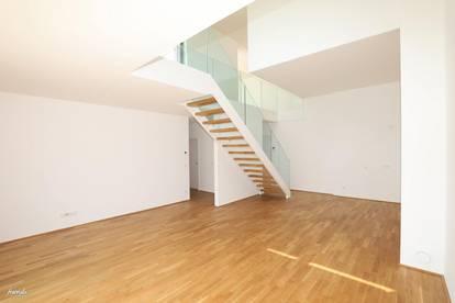 115m2 Wohnung mit Galerie, Terrasse & Balkon