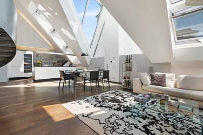 Designer-Penthouse in Zentrumsnähe