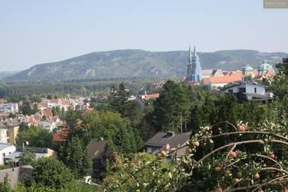 Sonniges Baugrundstück in erhöhter Lage in Klosterneuburg