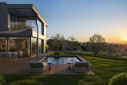 Einzigartige Villa mit atemberaubendem Blick in Nobellage