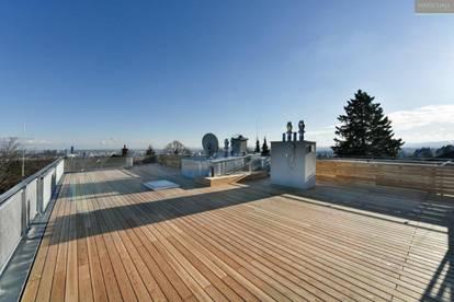 Traumhafte Dachgeschosswohnung mit 360° Terrasse in Grinzinger Toplage