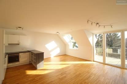 Sonnige Neubauwohnung mit Balkon und Garage in Sievering
