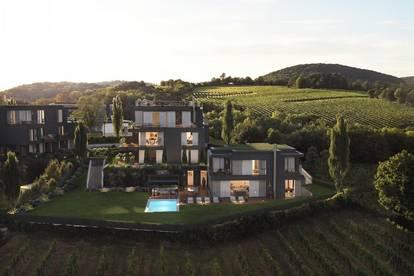 Exklusive Einfamilienvilla mit Panoramablick über Wien