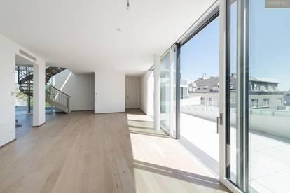 Designer Penthouse mit Aussicht auf Wien und die Weinberge