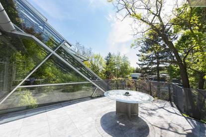 Architektenvilla in wunderschöner Gartenanlage in Ober St. Veit