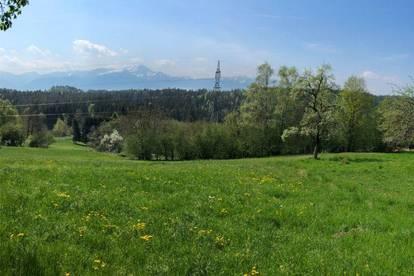 Villenbaugrund in Velden-Köstenberg