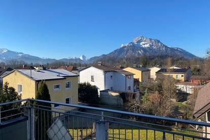 Elsbethen/Austr: DG-Maisonette mit Terrasse und Balkon - großzügig - 3-Parteienhaus - Parkplatz!