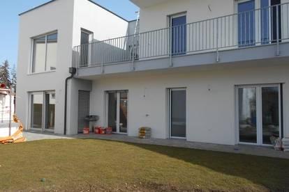 NEUBAU Erstbezug Haus mit 2Wohnungen EG mit Garten OG mit Loggia/Balkon/Garten DonBosco>