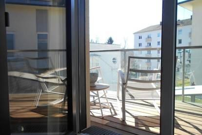 Mariatrost-Kroisbach nahe LKH, UNI großartige, sonnige 2ZI neuwertig mit Balkon, TG