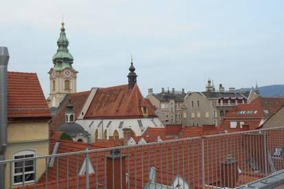 Altstadt Rarität mit Dachterrasse  außergewöhnlich ! 4ZI 263m² Blick über die Dächer, Schloßberg