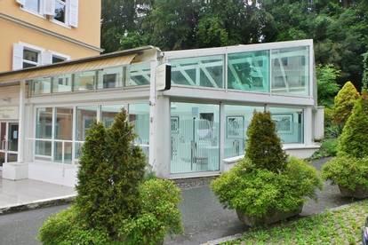 Lokal mit Wintergarten in stilvoller ALTBAU-VILLA im Kurort  Bad Gleichenberg