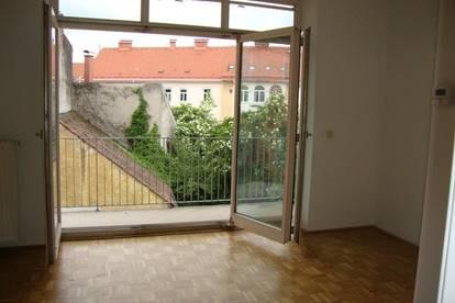 Graz-Jakomini: sonnig - mit Balkon - westseitig
