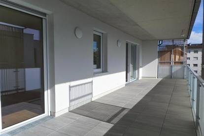 NEUBAU-SONNIG-EXKLUSIV Stilvolle 3ZI mit Komfort Wohnterrasse 33m², Lift Tiefgarage,Parkplatz