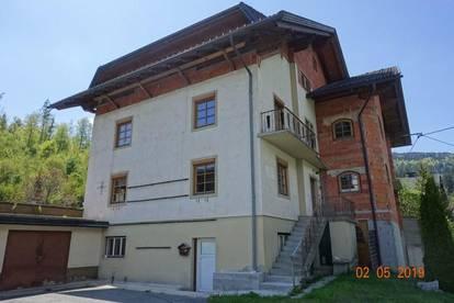 Viel Platz im Haus, großes Grundstückin Hermagor