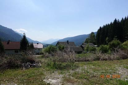 Ruhiges Grundstück in Weißbriach Nähe Weissensee