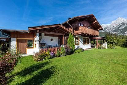 Landhaus mit Blick auf die Steinberge
