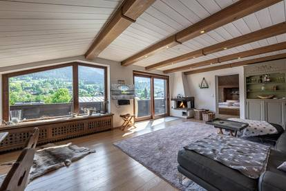 Dachgeschoss-Wohnung mit Freizeitwohnsitz im Zentrum von Kitzbühel